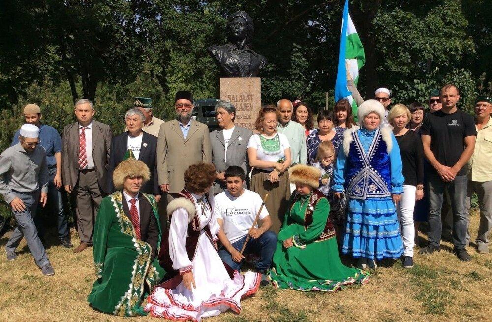 ФОТО: Башкирская диаспора Эстонии отметила день рождения Салавата Юлаева