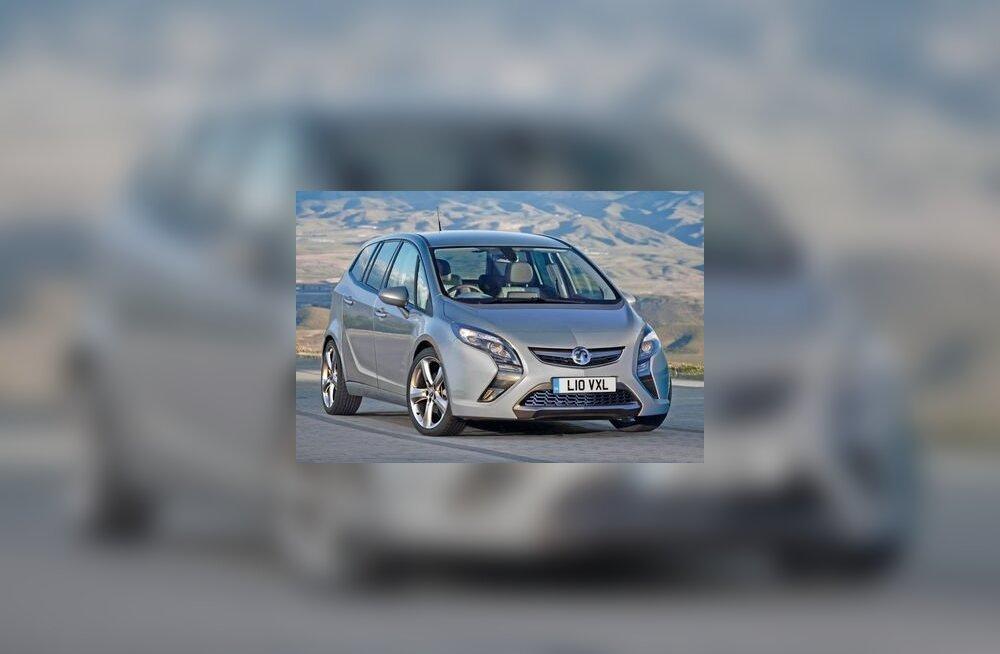 Opel Zafira nina üllatab meeldivalt