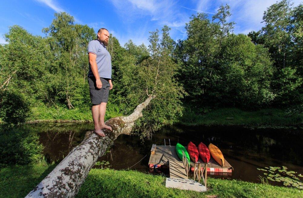 Tänapäeva Nipernaadi Veiko Pärnu lähistel jõekäärus