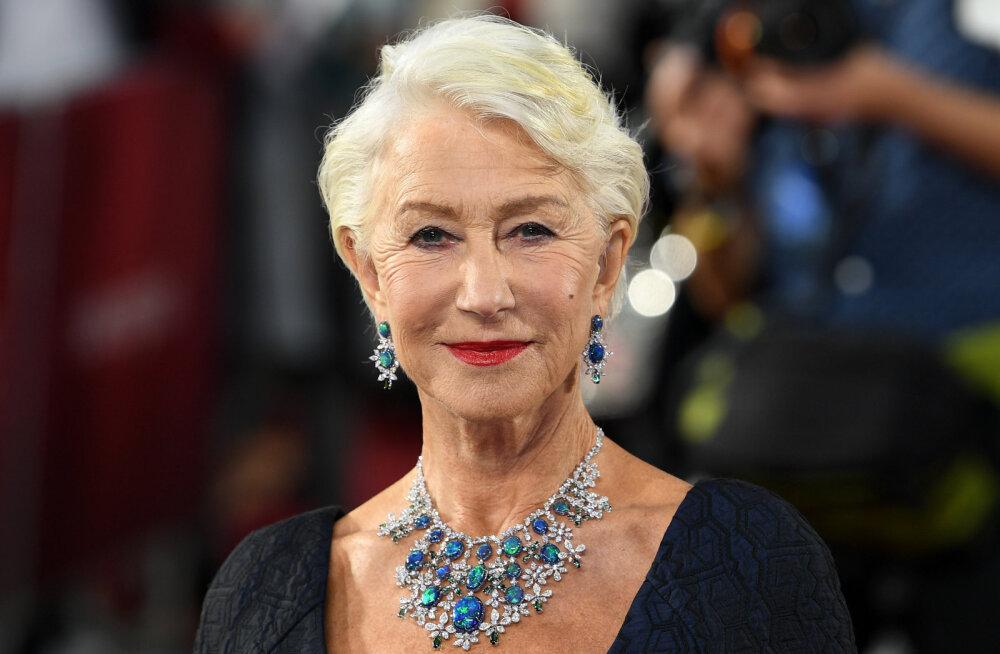 KLÕPS | 74-aastane Helen Mirren jagas meigivaba pilti: mina hommikul