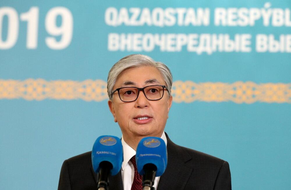 Keskvalimiskomisjoni teatel kogus Tokajev Kasahstani presidendivalimistel üle 70% häältest