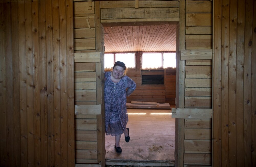Ehkki ostetud majas on veel palju teha, on Tugiliisu juht Agne Raudmees optimistlik.