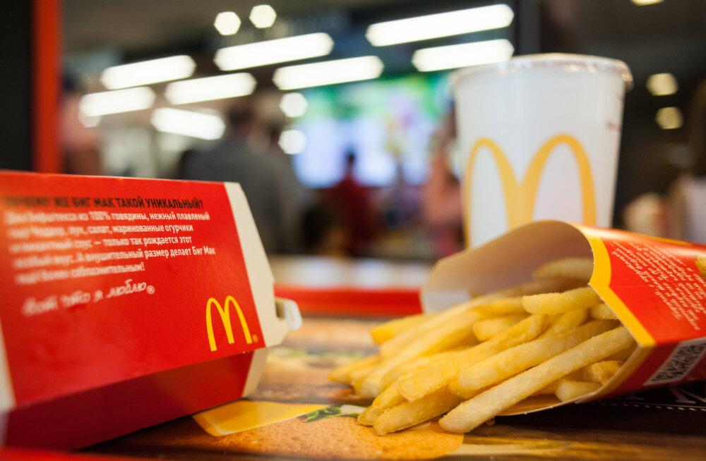 McDonald's süüdistas vale tellimuse kaasa saanud meest varguses ja kutsus talle politsei