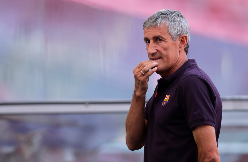 Barcelona president: vallandasime peatreeneri