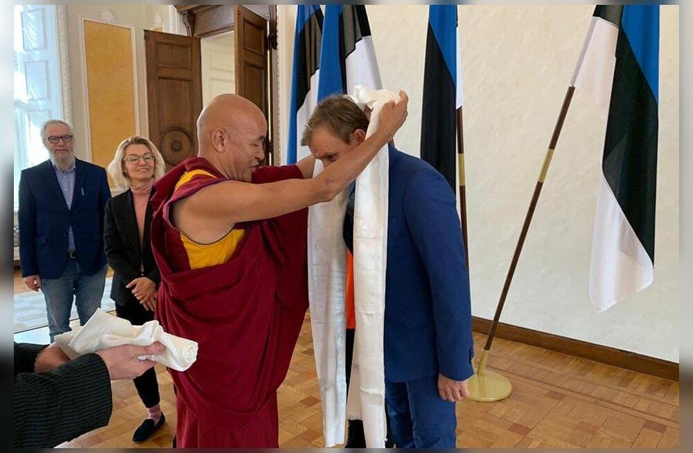 Eestisse saabus kõrge Tiibeti esindaja