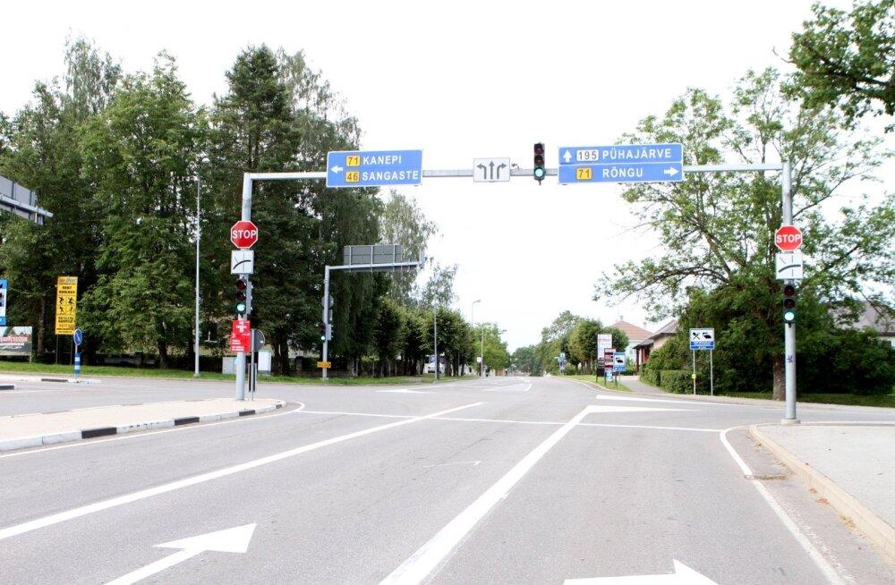 Otepää liiklus 20.07.2012