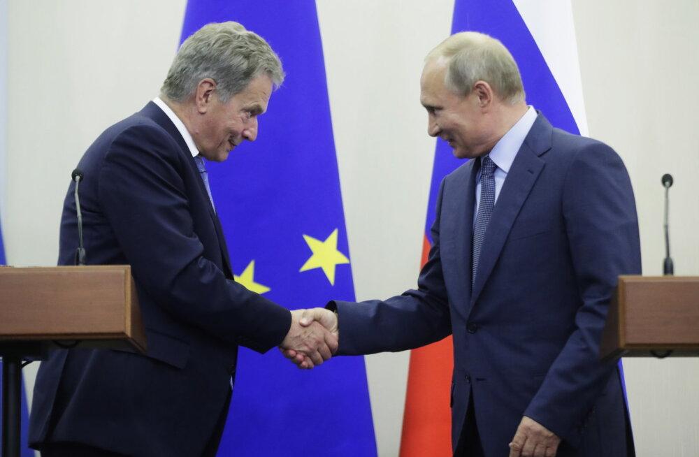 Putin saabub Soome visiidile nädala pärast – Niinistö ootab huvitavaid ja kasulikke arutelusid