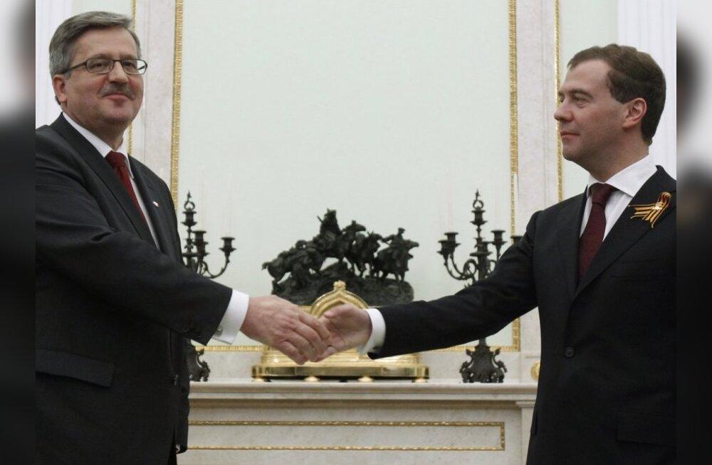 Poola uus president soovib veelgi Moskvale läheneda