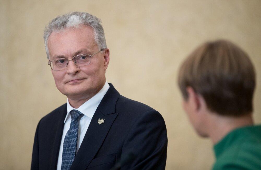 Leedu president Gitanas Nausėda on 20. augustil Eestis töövisiidil