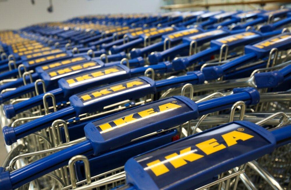 Läti IKEA avamine