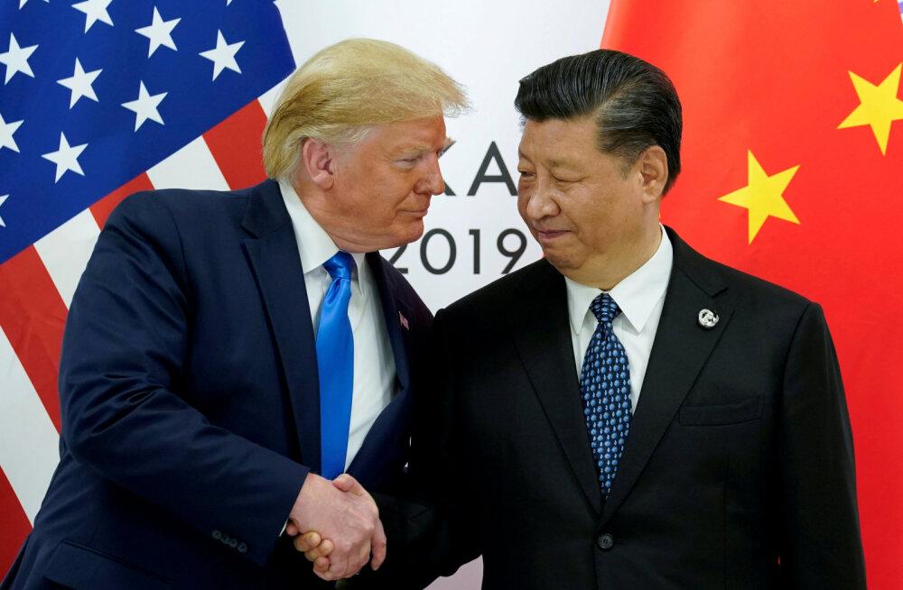 Trump nimetas Hiina presidenti heaks meheks ja pakkus kohtumist Hongkongi asjus