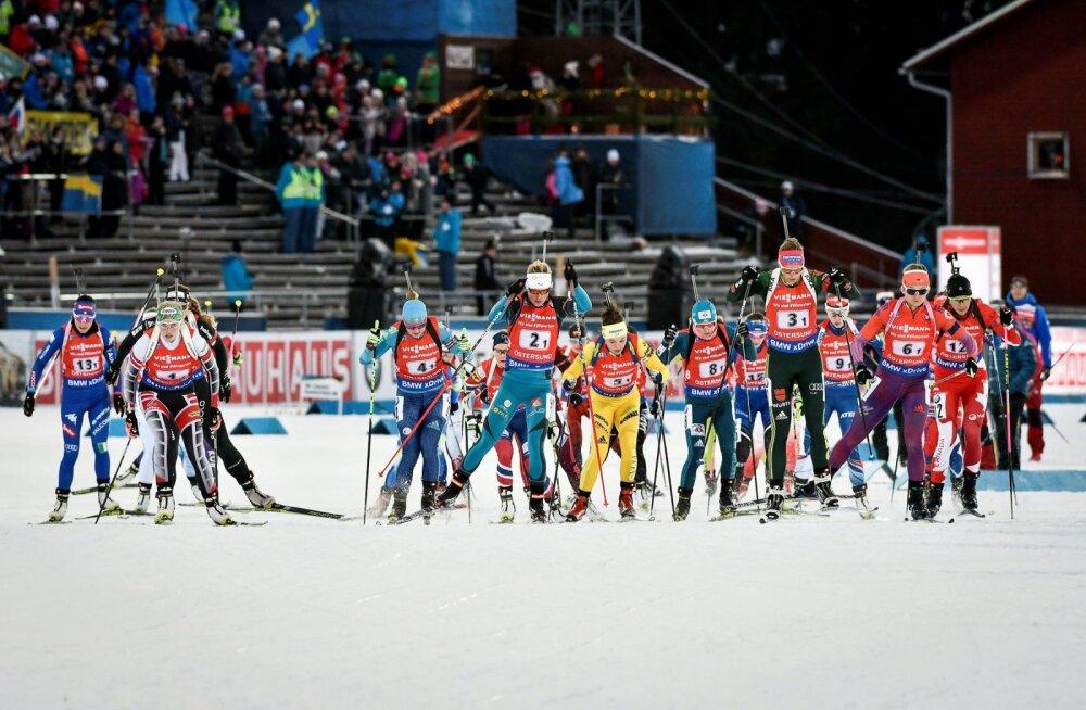 Eesti laskesuusatajad alustasid MK-sarja paaristeate 15. kohaga