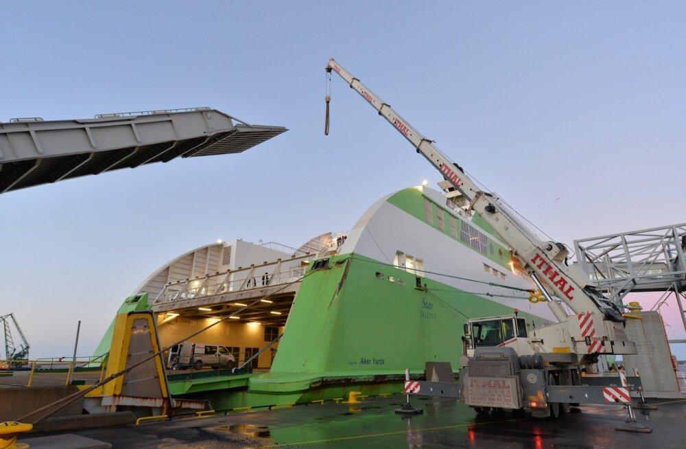 Rike Helsingi sadamas ajas Tallinki reisilaeva Star sõidugraafiku sassi