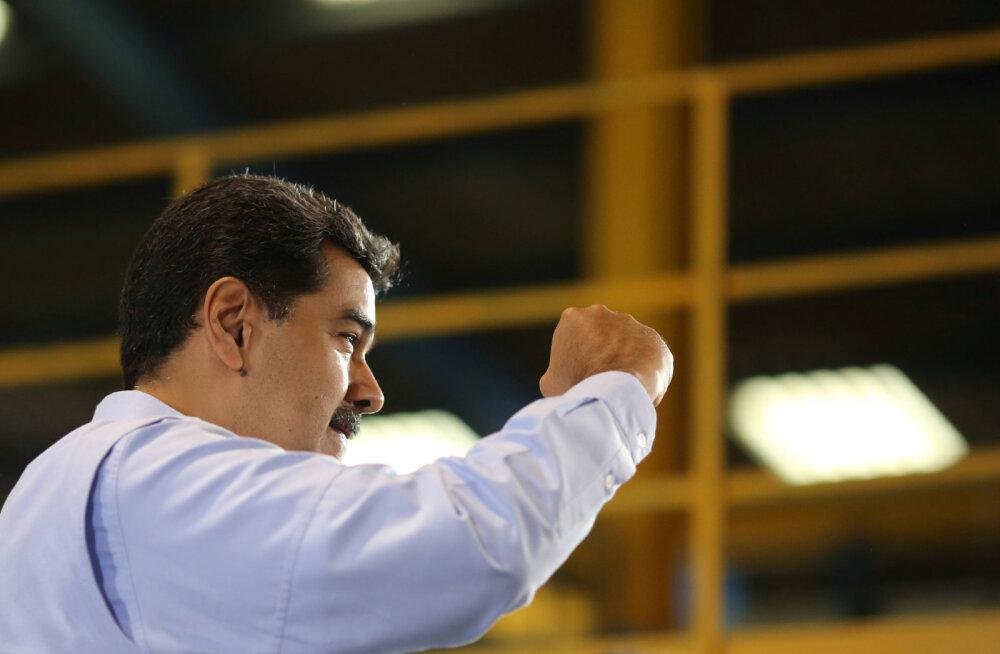 Venezuela valitsus põhjendas opositsioonijuhi personaliülema vahistamist terrorismiohuga