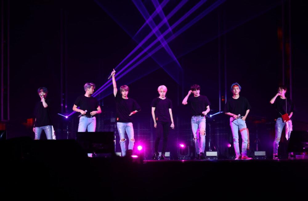 Fännide nõudmisel tuleb Lõuna-Korea poistebändi BTS-i kontsertfilm kordusele