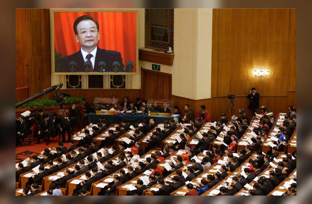 Hiina peaminister andis rahvakongressi avakõnes heaolulubadusi