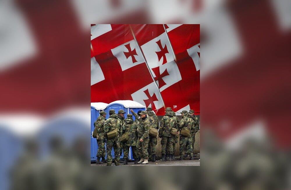 Gruusia, lipp, Tbilisi, eriolukord, sõdur