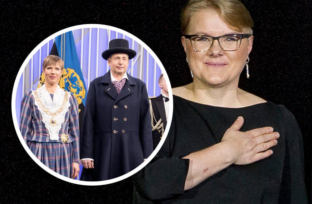 KUULA | Ülle Suurhans-Pohjanheimo presidendivastuvõtust: Kaljulaid eirab protokolli, peaminister võiks ülikonda pressida. Eesti on kolgastumas!