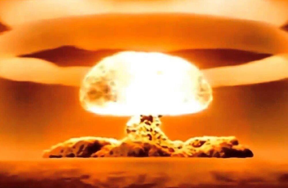 VIDEOD: esimesed vesinikupommi plahvatused maailmas, aga ka Tsar Bomba
