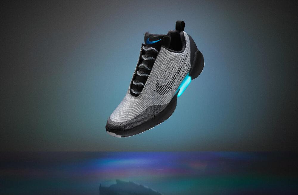 """Tulevik on kohal: Nike toob turule ise """"paelu siduvad"""" kossuketsid"""