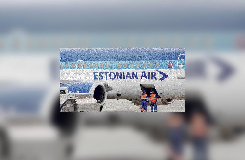 Estonian Air valetas katkise lennuki kasutamise kohta