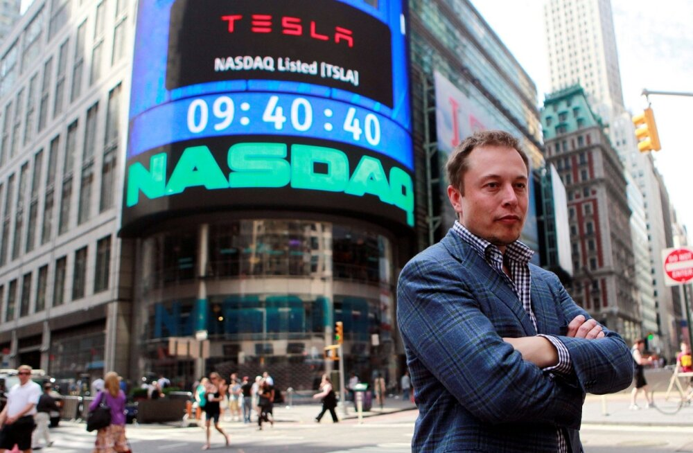 Tesla Motorsi juht Elon Musk.