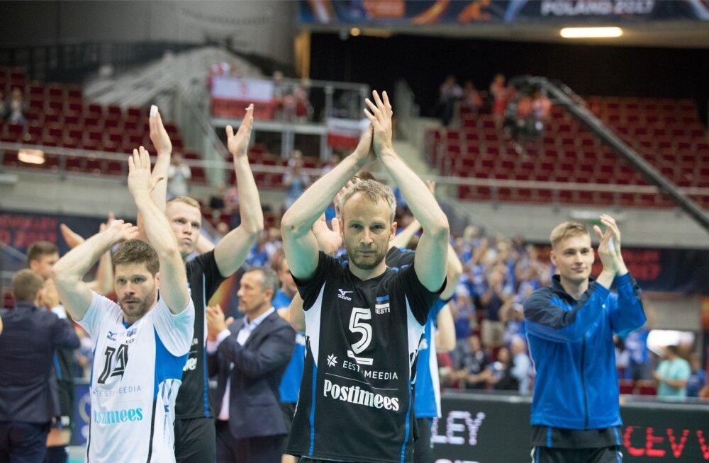 Eesti võrkpallikoondis on fännidele pakkunud kuhjaga emotsioone.