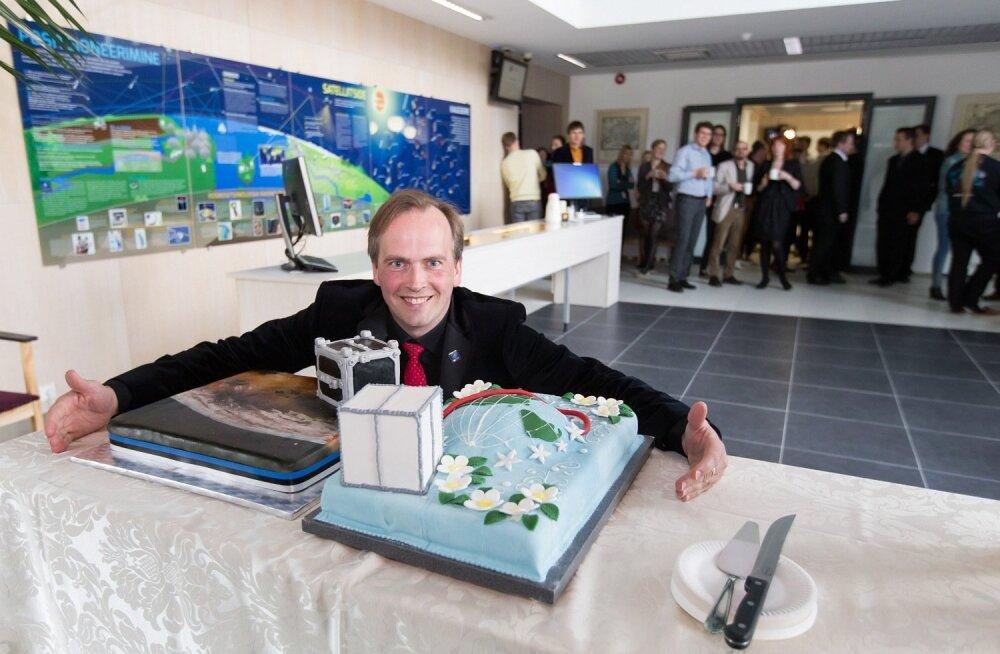 Mart Noorma - ESTCube tortidega Tartu Observatooriumis