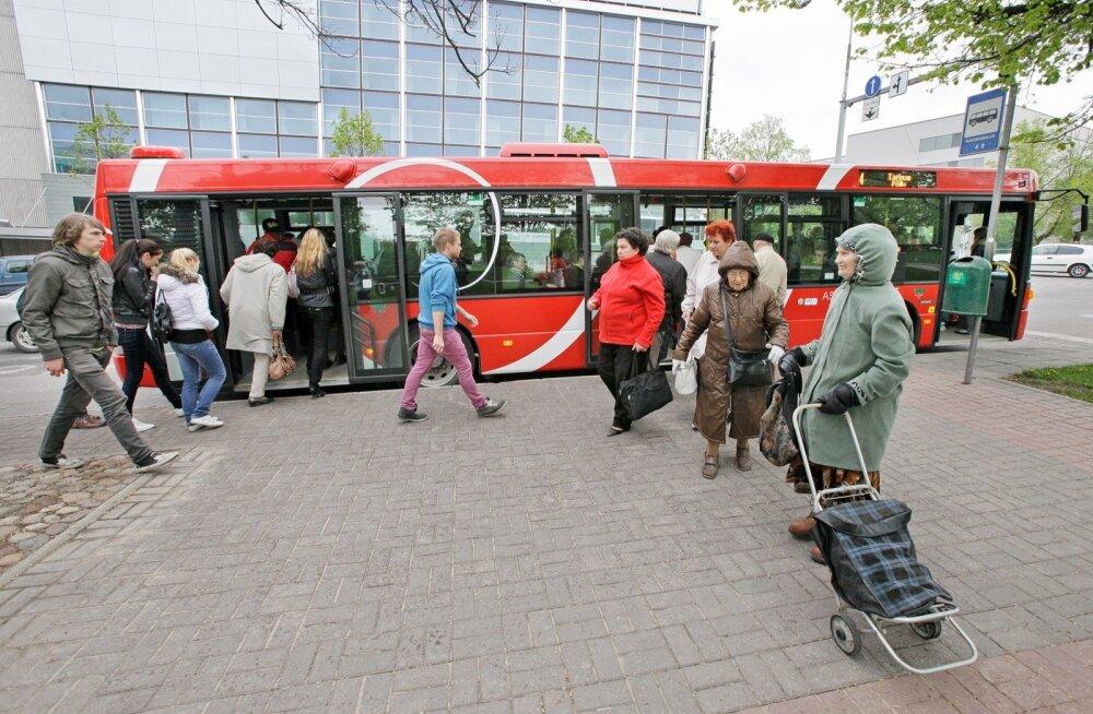 Linnaliinibuss Tartus