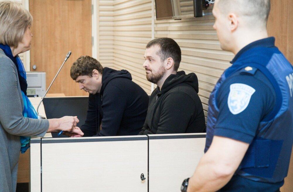 Dimitri KÄRBERG ja Paul KÄRBERG kohtuall