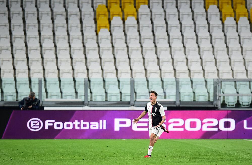 VIDEO | Juventus alistas suletud uste taga iluvärava abil lähirivaali ja kerkis liidriks