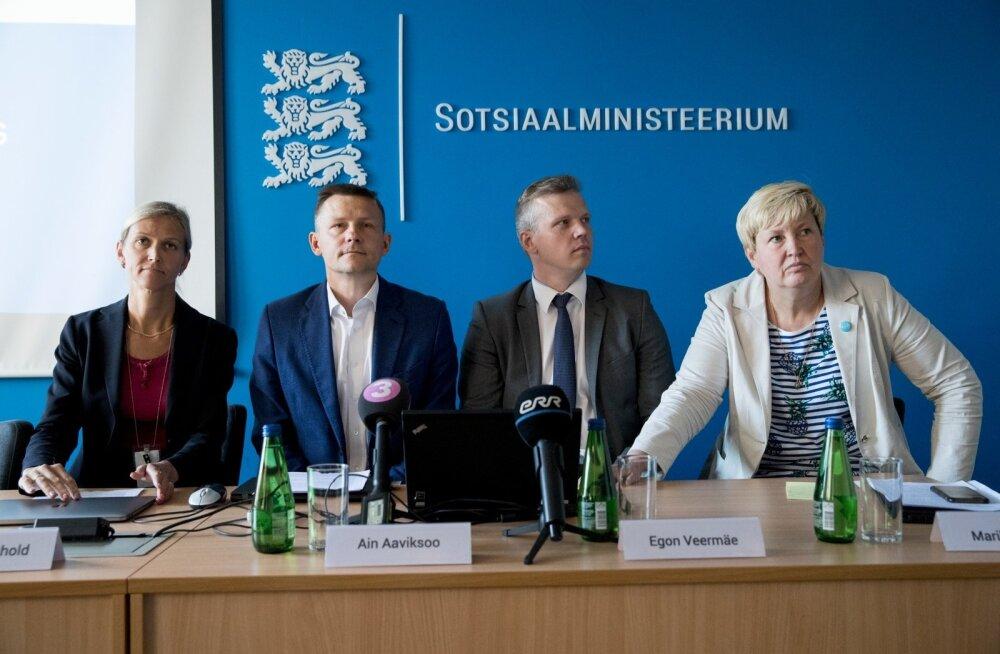 SKAIS2-teemaline pressikonverents Sotsiaalministeeriumis