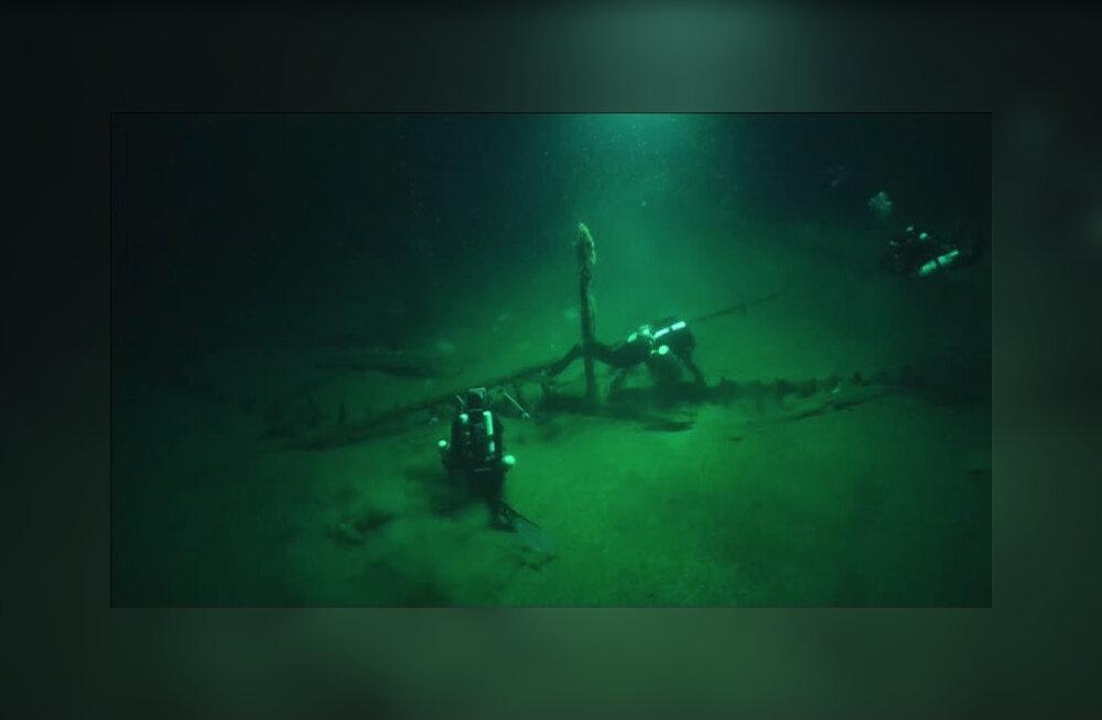 ВИДЕО: В Черном море исследовали древнейший греческий корабль