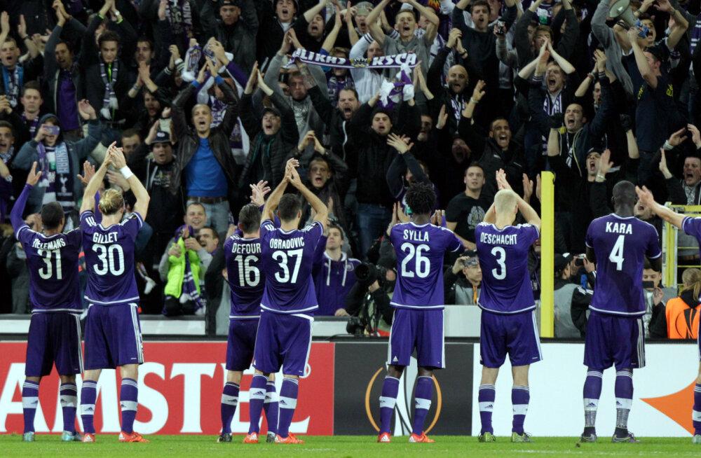 Euroopa liigas Aserbaidžaani klubile kaotanud Anderlecht maksab fännidele reisi kinni
