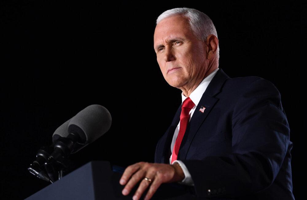 USA asepresident Pence hoiatas Bideni valimisvõidu eest: meil tuleb valida, kas Ameerika jääb Ameerikaks