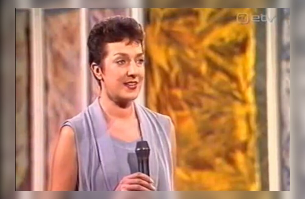 Maire Aunaste anno 1994