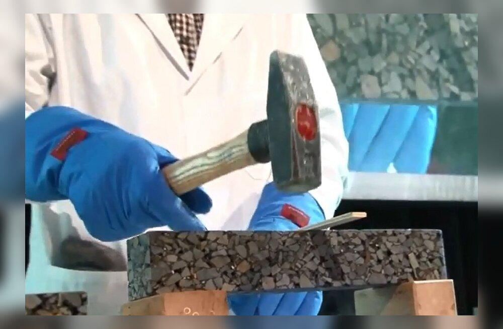 VIDEO: Kuidas toimib hollandlaste leiutatud iseparanev asfalt