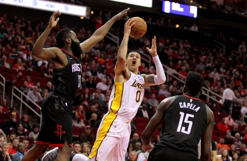 VIDEO | Lakers mängis maha 17-punktilise eduseisu ja kaotas Rocketsile teisel lisaajal