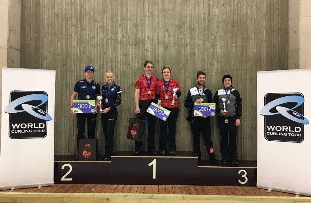 Eesti curlingupaar sai Tallinnas toimunud MK-etapil teise koha
