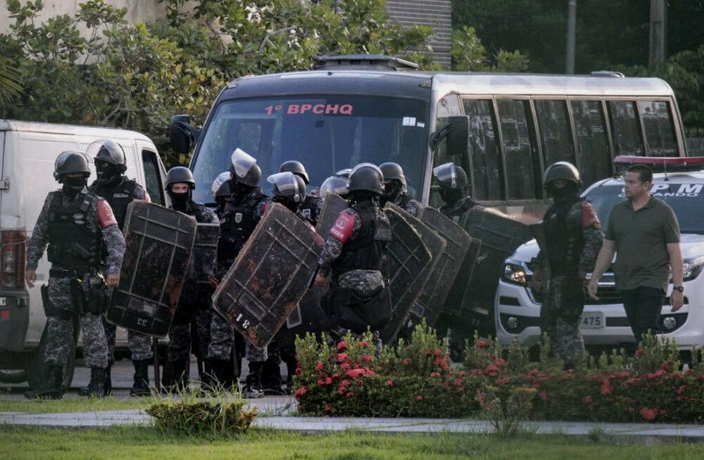 Brasiilia erinevates vanglates leiti surnuna 40 kinnipeetut