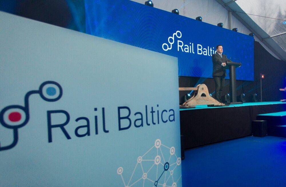 Rail Baltic sai Eestis nurgakivi