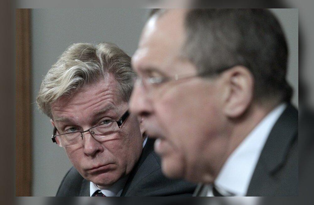 Lavrov sarjas Leedu välisministri okupatsiooniteemalist avaldust