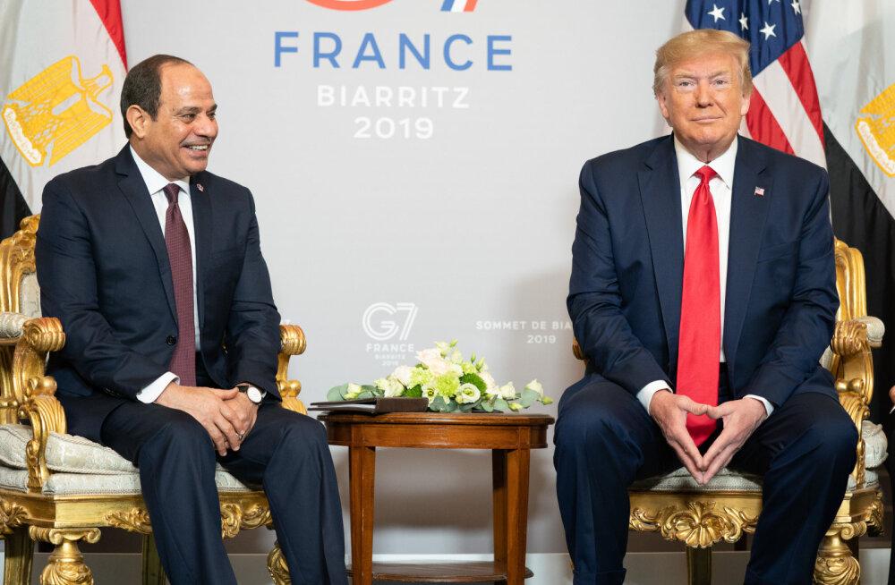 Trump G7 kohtumisel: kus on mu lemmikdiktaator?