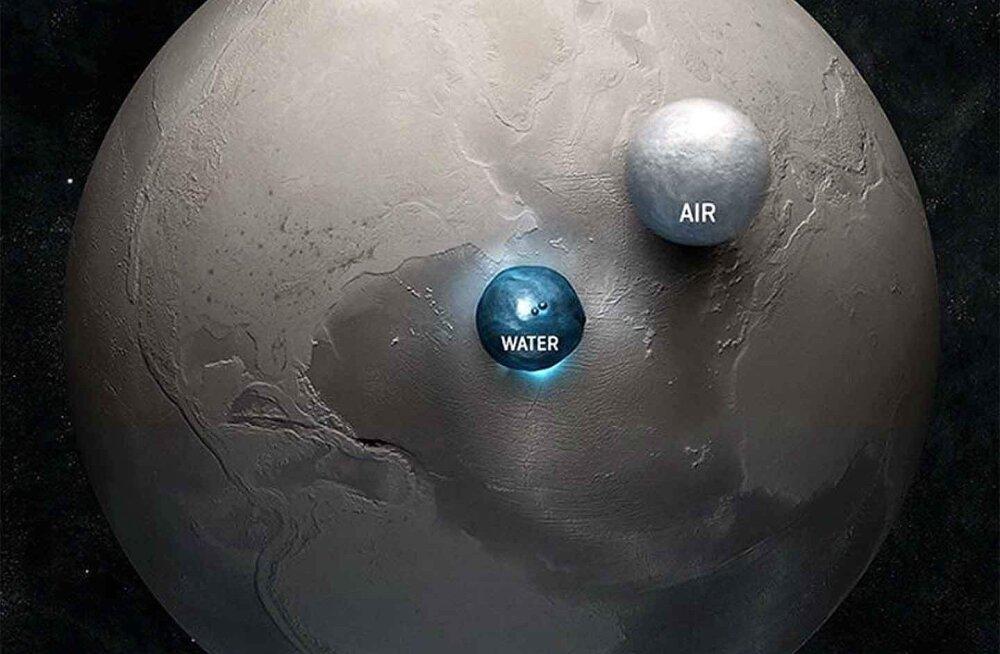 Kui palju või vähe vett on Maal