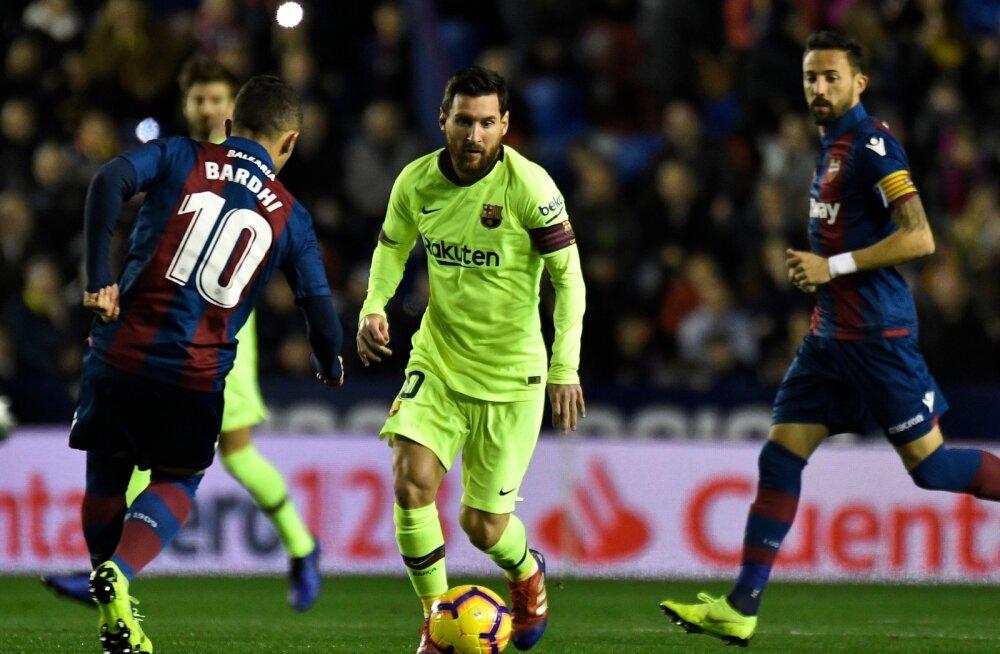 VIDEO | Kes suudaks seda meest peatada? Lionel Messi tegi Hispaanias fantastilise mängu: kübaratrikk ja kaks väravasöötu