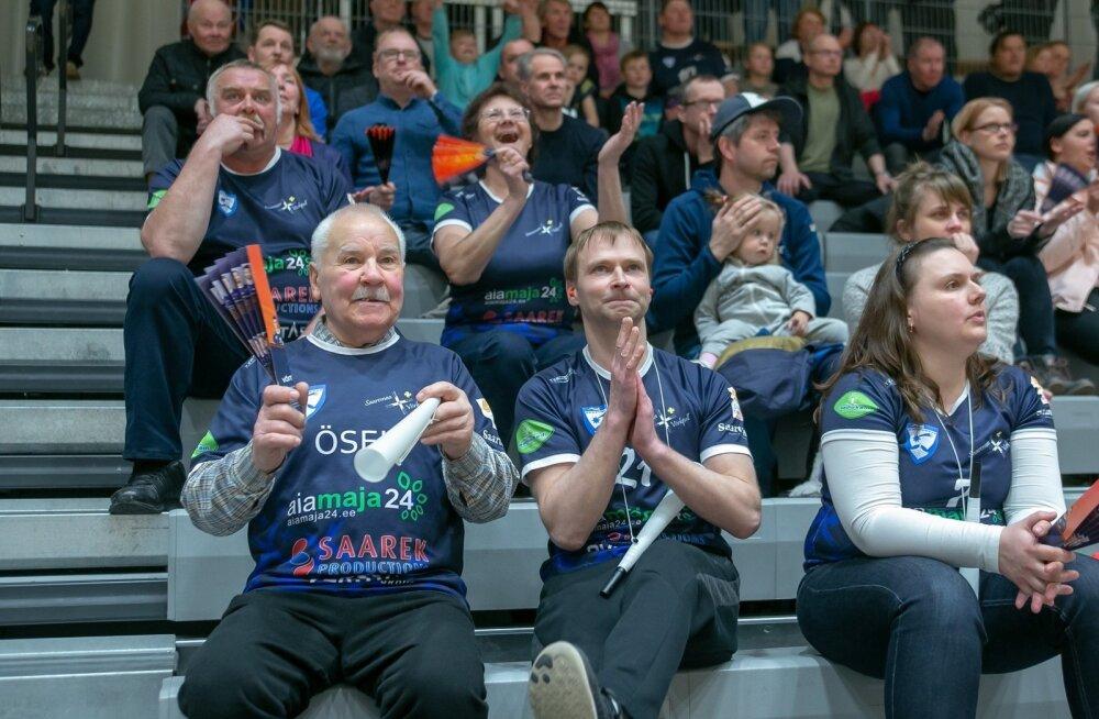 Võrkpall pronksimäng, Saaremaa ja Rakvere