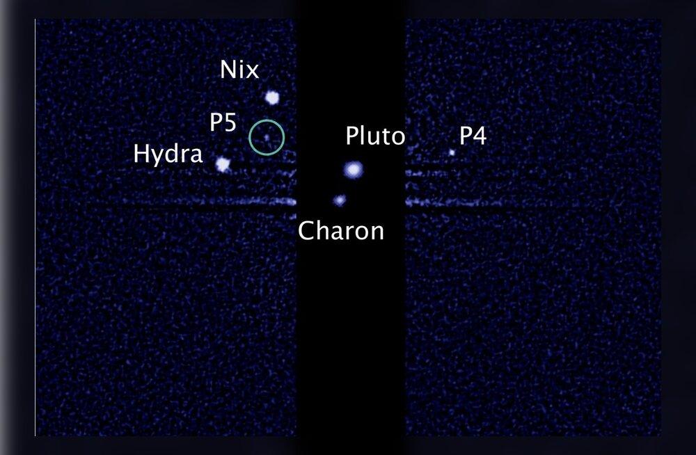 Pluutol avastati juba viies kaaslane