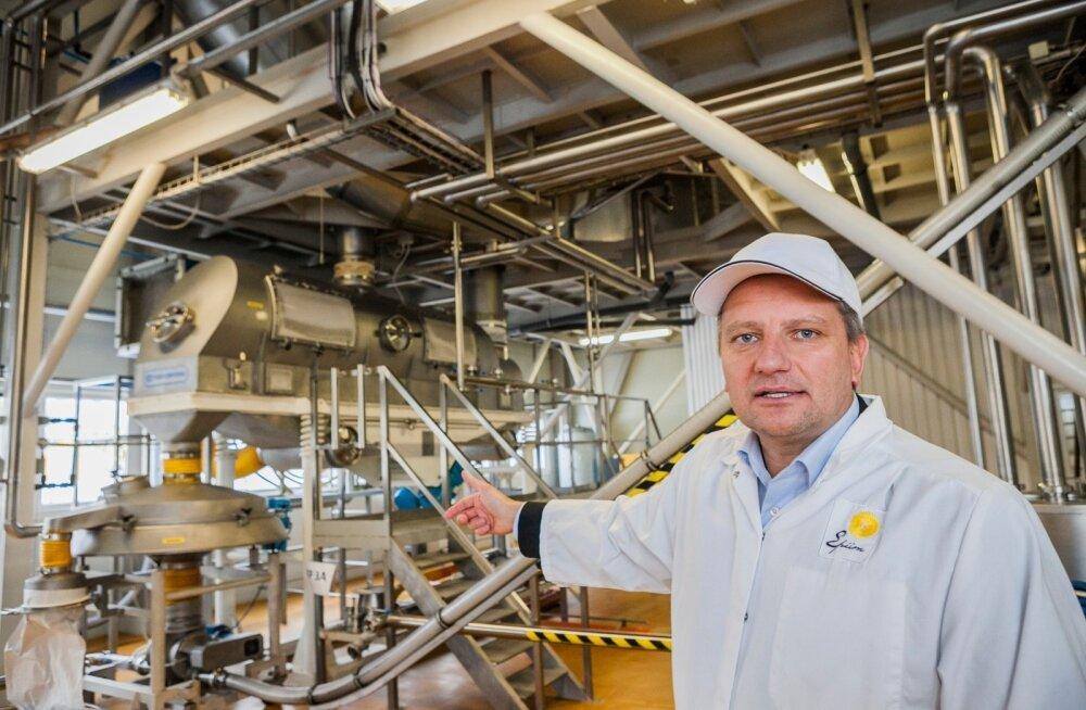 """""""Praeguse plaani järgi avab uus tehas Paides uksed 1. juulil 2020,"""" teatab E-Piima juhataja Jaanus Murakas. Tööstuse rajamine võib tuua Paidesse juurde sadakond töökohta."""