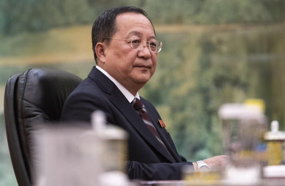 Põhja-Korea välisminister kaotas ameti