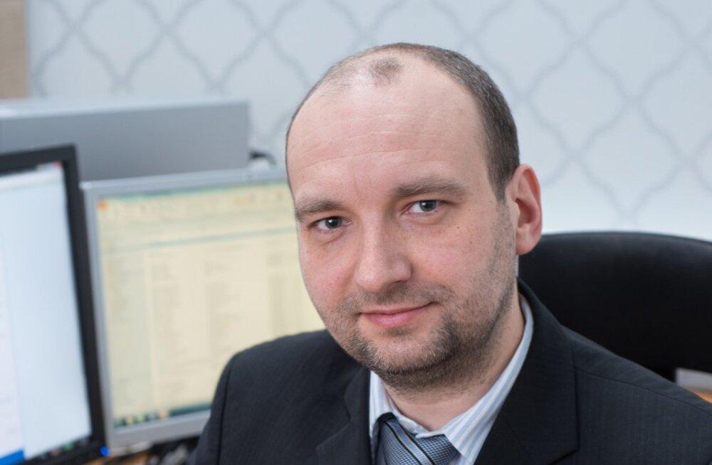 Eesti panka ökonomist Sulev Pert